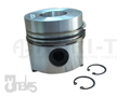 PISTON 100 mm 32 mm PIN W/ 2.50x2.50x5.50 mm RING SET